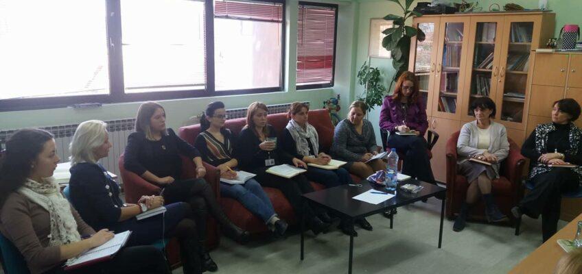 последњи састанак са представницама из Аутономног женског Центра