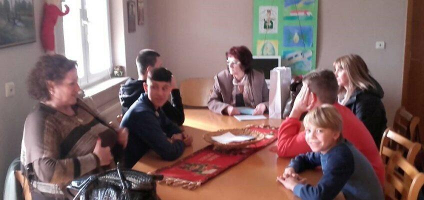 Стручни радници Центра за социјални рад Милка Перендија