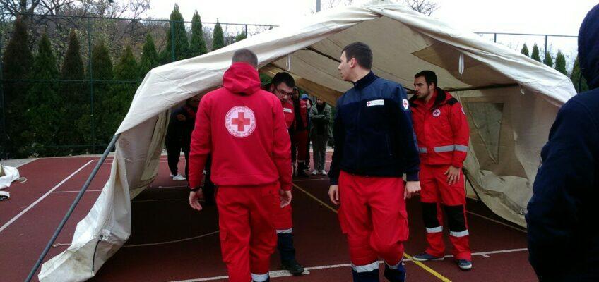 Обука Црвеног крста Војводине