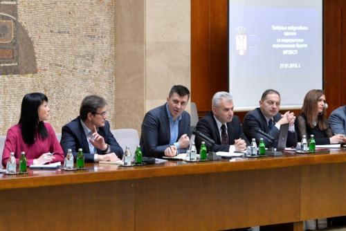 Министар за рад, запошљавање, борачка и социјална питања Зоран Ђорђевић
