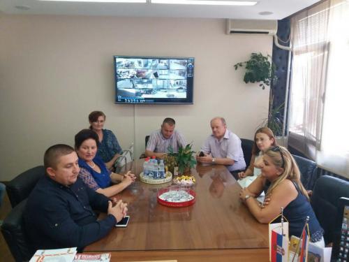Директори центара за социјални рад сремог округа на састанку у Старој Пазови